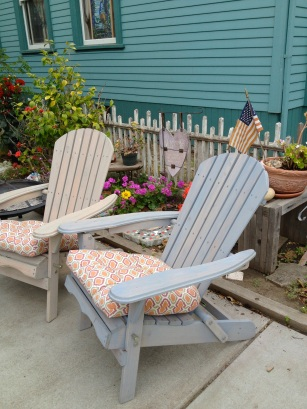 Adirondack chairs, Spreckels