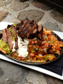 Happy Hour Steak Nachos $8, Forge in the Forest