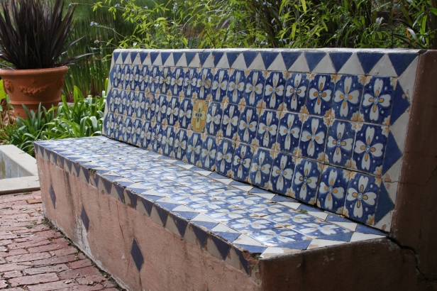 Tiled Bench, Santa Barbara