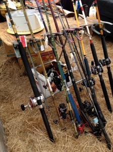 fish poles