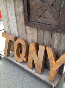 rust letters