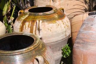 Glazed Moroccan Urns