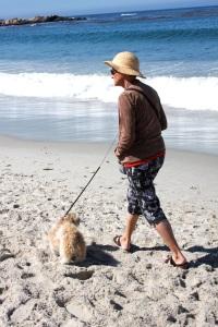 lady w:dog**