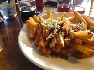 Bleu cheese fries