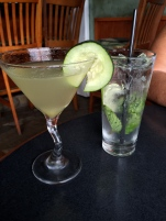 Pear Cucumber Martini