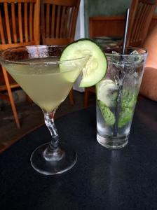 Pear Cucumber Martini