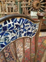 tiled chair